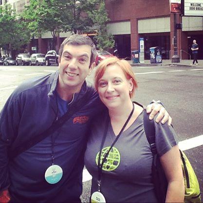 Meeting AJ Jacobs in Portland, OR
